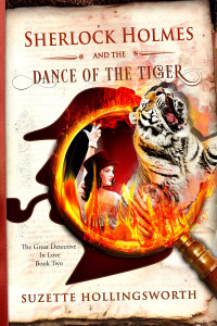 book cover image for Sherlock Holmes and the Dance of the Tiger
